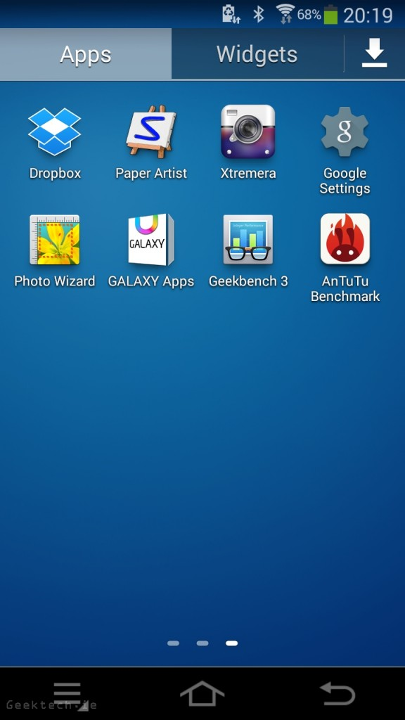 Samsung Galaxy Camera 2 UI 2