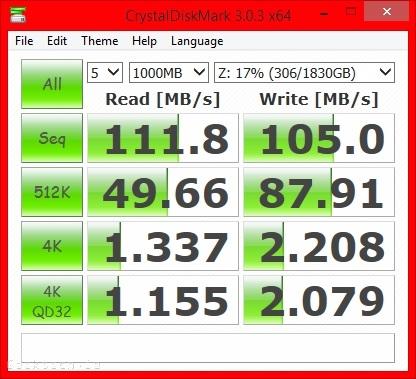 WD EX2100 RAID1 Crystal Disk Mark Raid1 Share