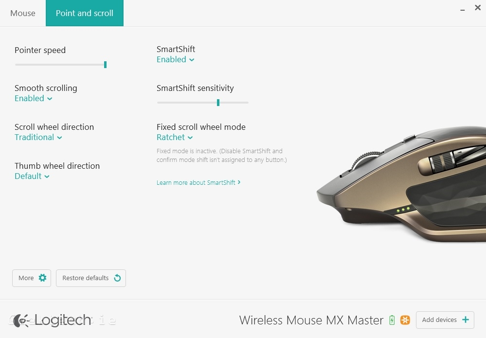 Logitech MX Master Options 2