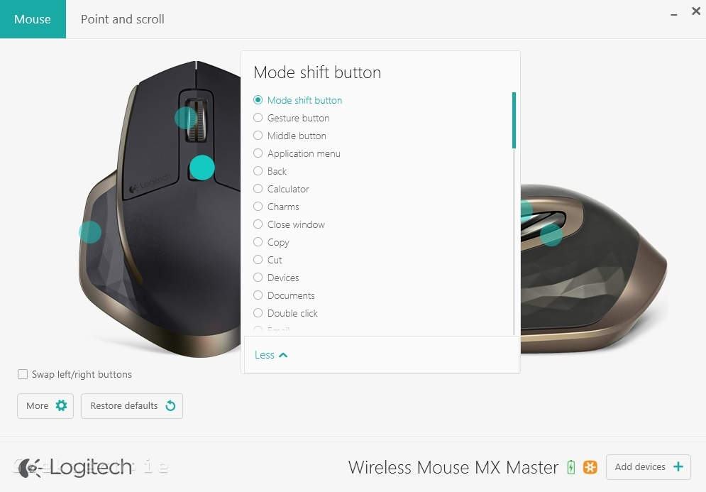 Logitech MX Master Options 7