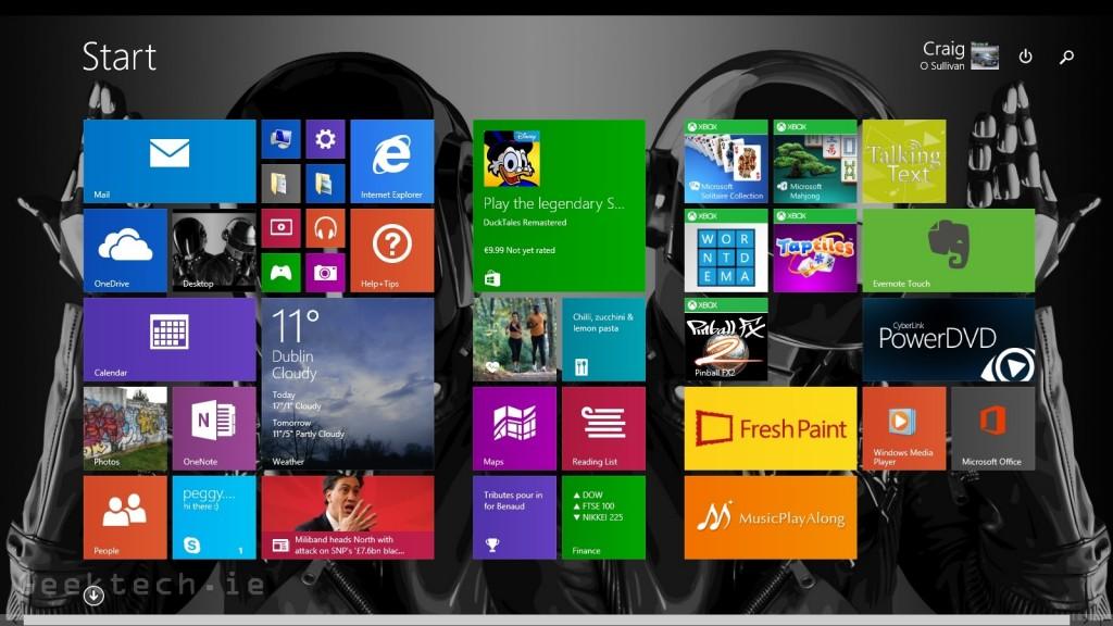 MSI Adora 20 windows 8 ui