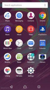 Sony Xperia X UI (2)