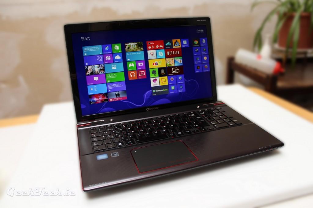 Toshiba Qosmio laptop