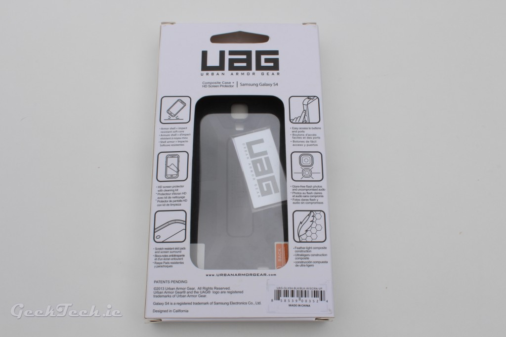 UAG for S4 Package Back