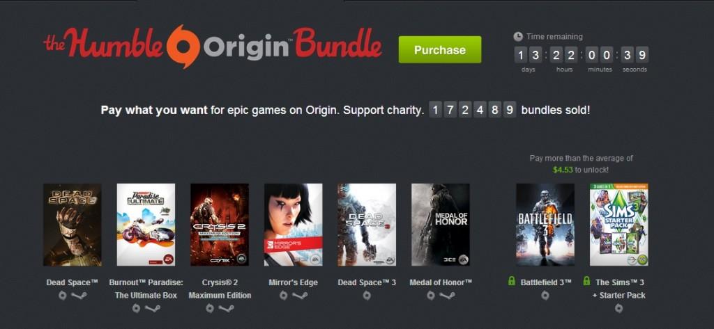 origin humble bundle