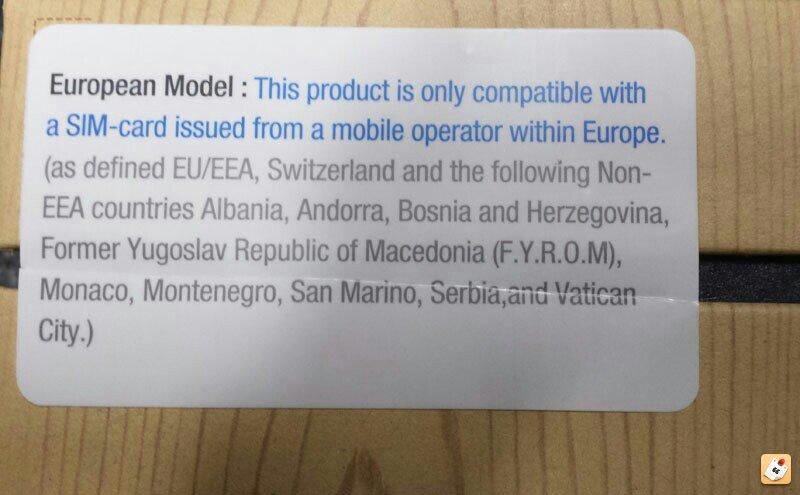 Galaxy Note 3 sim card support