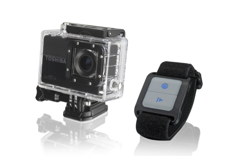 Toshiba Camileo x-sports action cam feature
