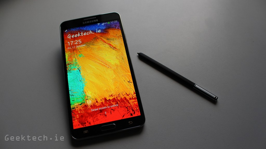 Samsung Galaxy Note 3 feature