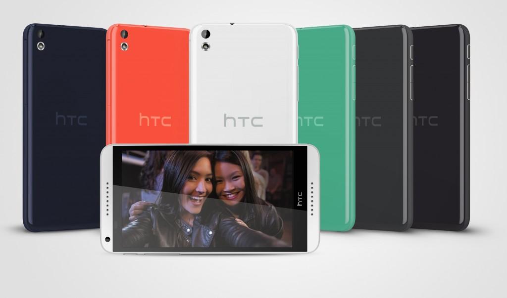 HTC Desire 816_3V_AllColors