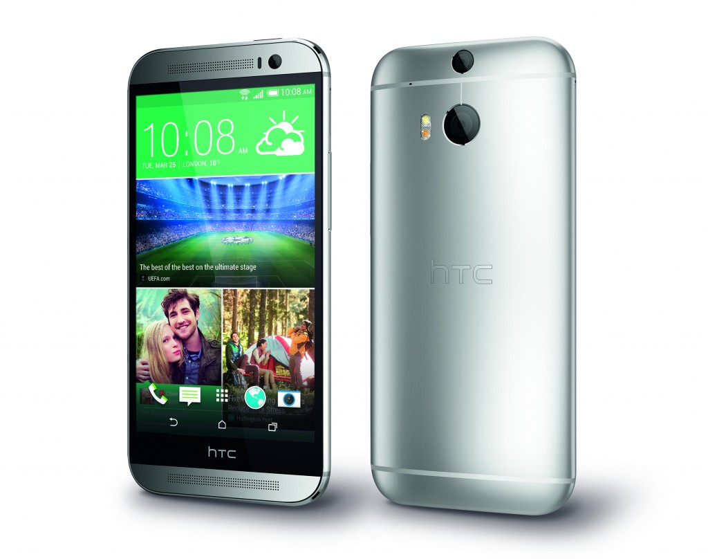 HTC One M8_PerLeft_Silver