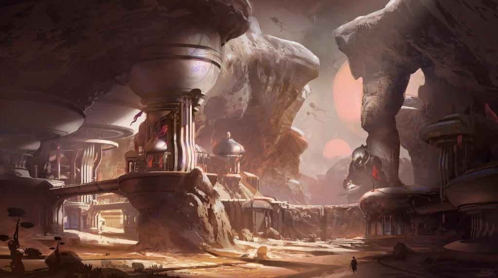 Halo 5 Guardians concept art