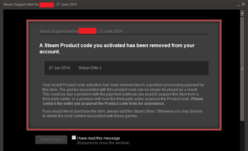 steam revoked featuring