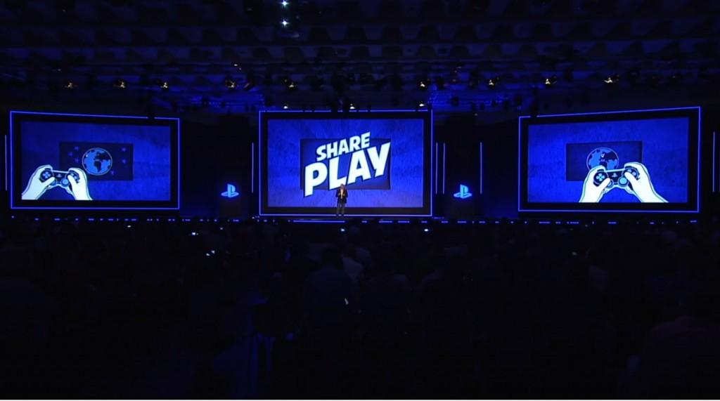 Sony PS4 SharePlay