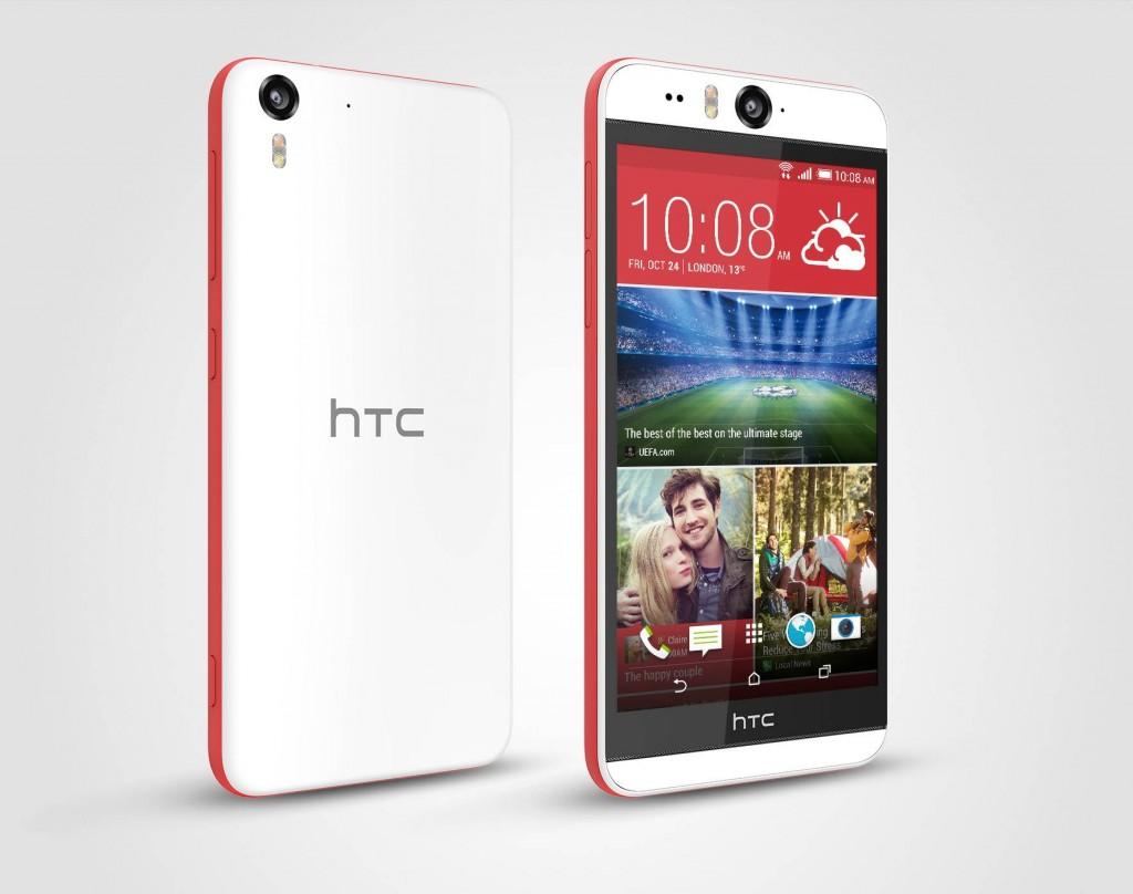 HTC Desire Eye Matt White 4 300dpi