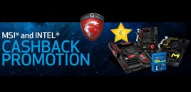 MSI and Intel launch cashback deal for Motherboards and Processors, offering up to €140 cashback