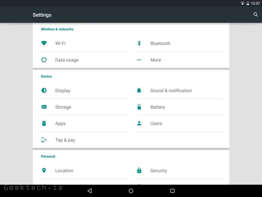 Nexus 9 UI (1)