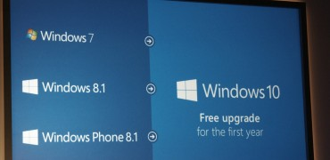 Windows 10 will be a free upgrade for Windows 7 and Windows 8/8.1 users