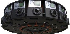 GoPro reveal 16 camera array for 360 VR videos