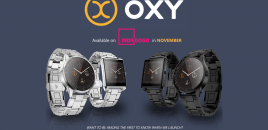 OXY starts crowd funding for new SmartWatch