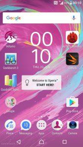 Sony Xperia X UI (1)
